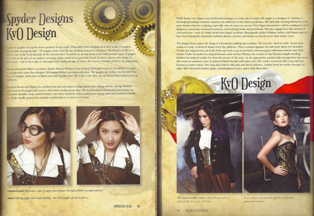 "Tearsheet from ""Anatomy of Steampunk"" by Katherine Gleason."